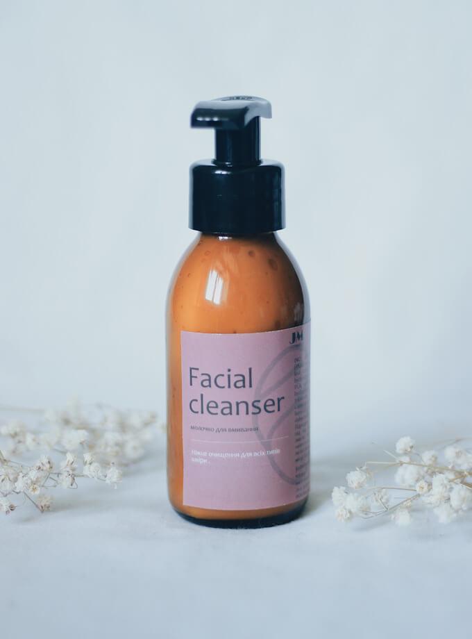 Facial cleanser молочко для вмивання для сухої шкіри