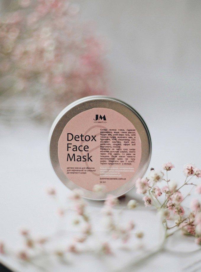 Детокс-маска для обличчя