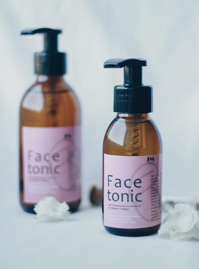 Face tonic для нормальної та схильної до жирності шкіри
