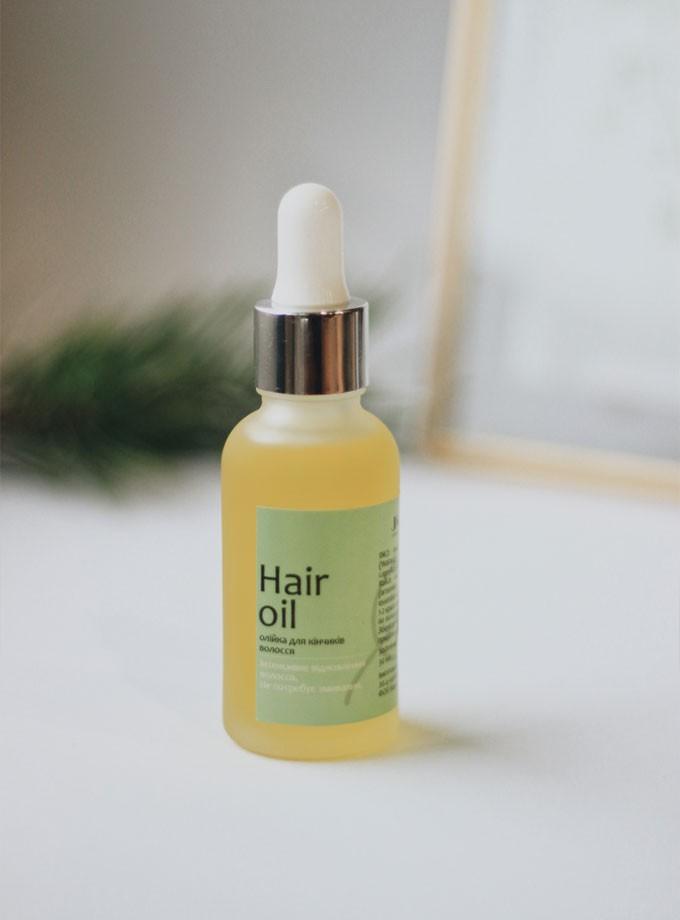 Олійка для кінчиків волосся