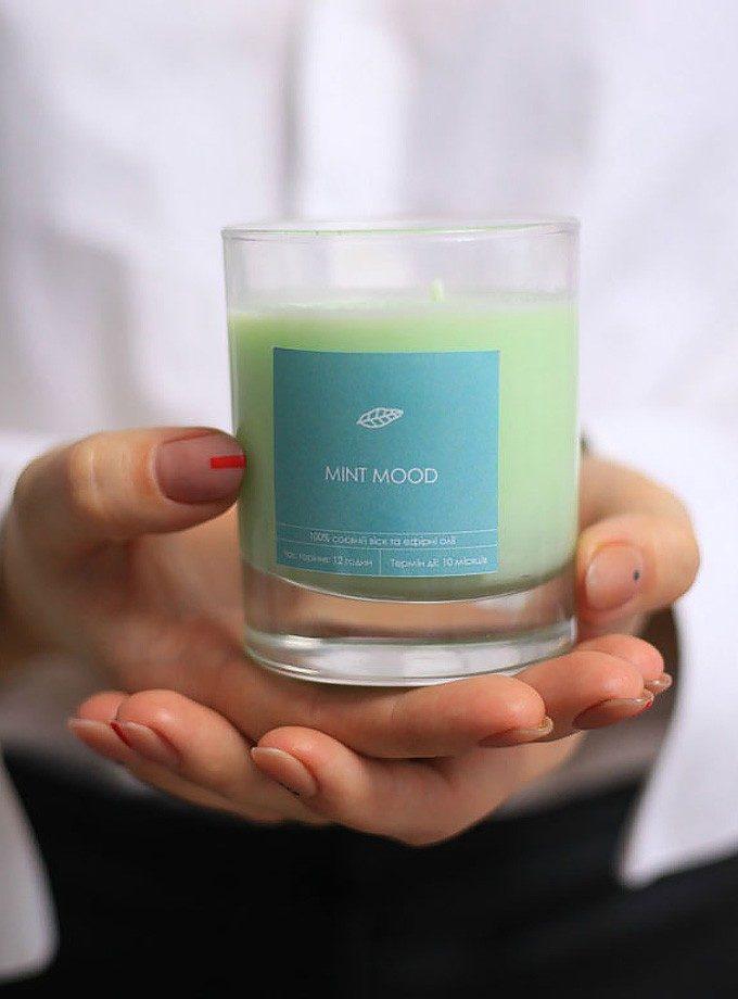 Соєва свічка Mint Mood