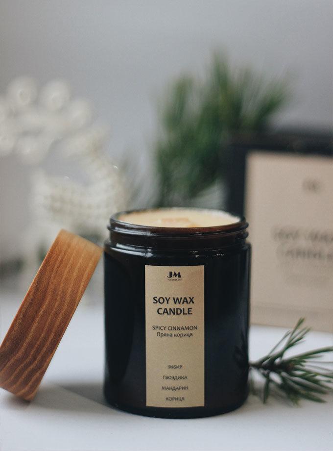 Соєва свічка Spicy Cinnamon